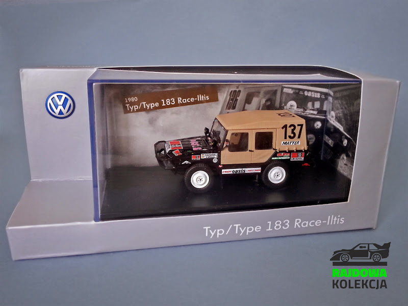 Norev VW Typ 183 Race-Iltis Paris-Dakar 1980