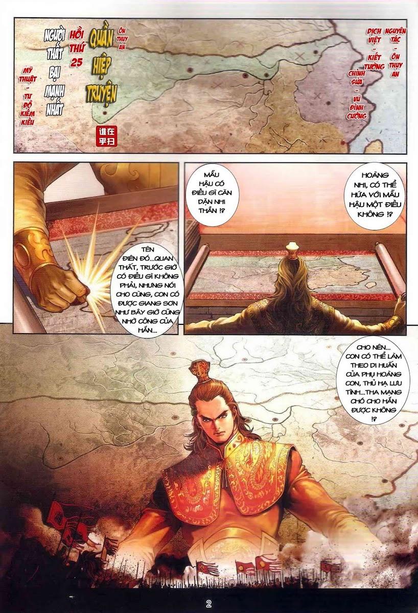Ôn Thụy An Quần Hiệp Truyện chap 25 trang 2