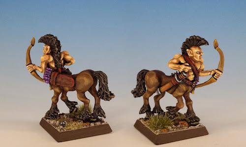Talisman Centaur, Citadel Miniatures (sculpted by Aly Morrison, 1986)