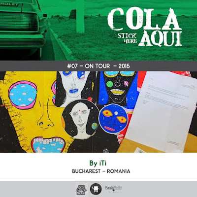 byITI: Cola Aqui! - sticker art exhibition tour || India & Brasil