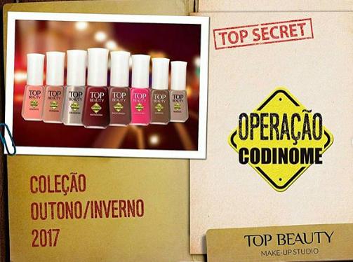 Coleção top beauty codinome outono/inverno 2017