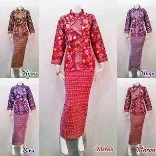 Model Pakaian seragam batik panitia pernikahan terbaru