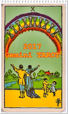 GEMINI TAROT CARD READING 2017 Ten of Cups
