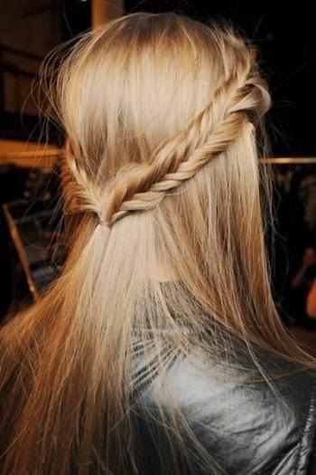 model rambut untuk perpisahan sekolah 5