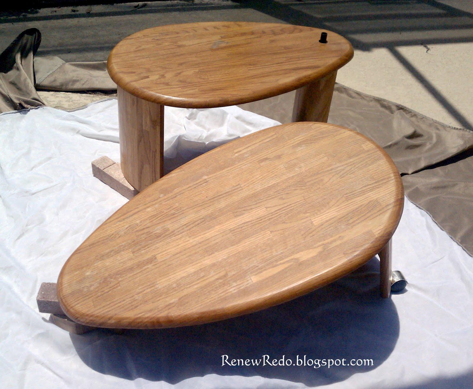 ReNew ReDo!: Coffee Table Redo With Ottoman