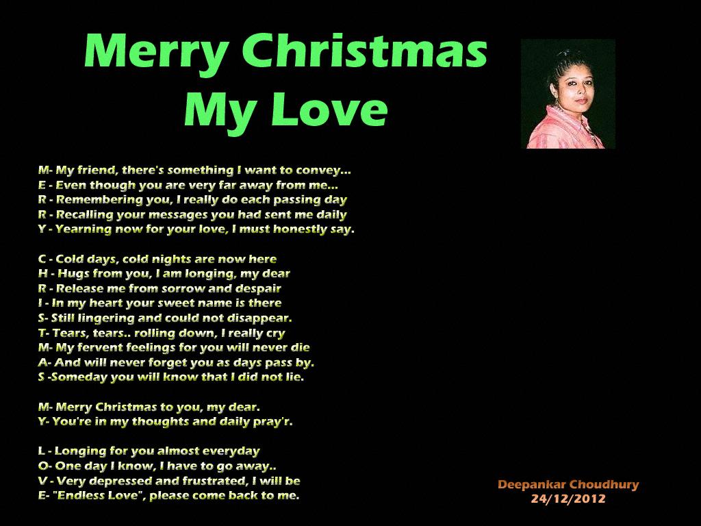 Merry Christmas My Love.Anondo Dham Merry Christmas My Love Priti Soma Mazumdar