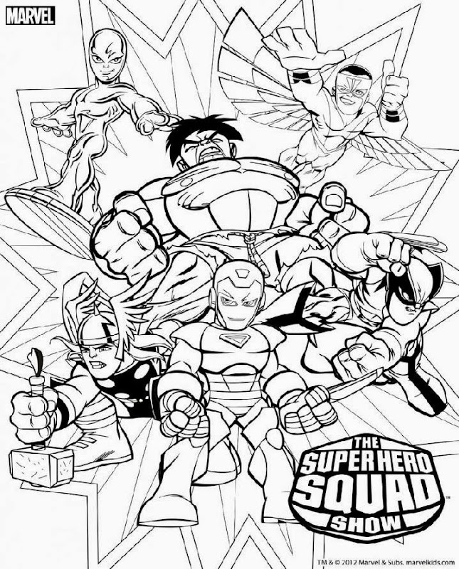 Marvel Villains Colouring Page'S 78