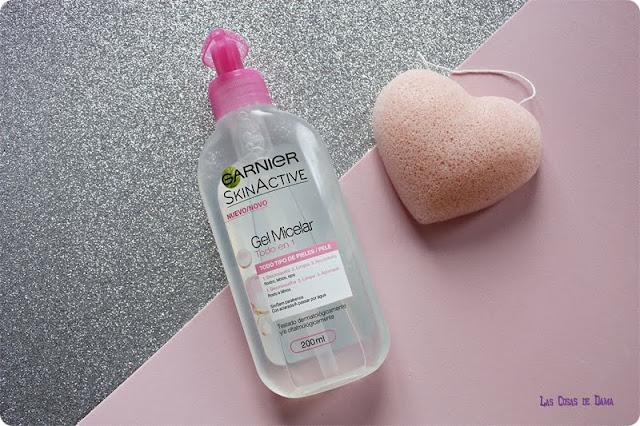 Gel Micelar SkinActive Garnier cuidado facial limpieza belleza desmaquillante