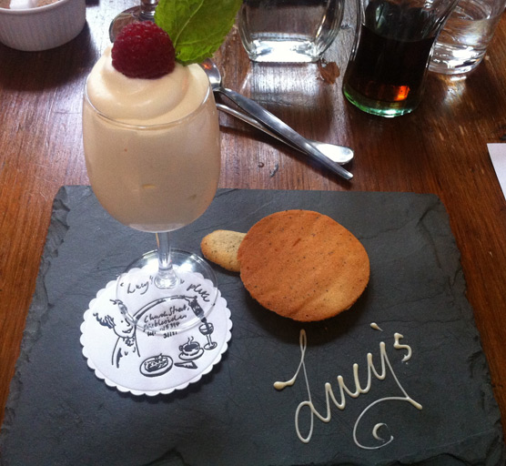 Lucy's of Ambleside Up the Duff Pudding Club - Syllabub