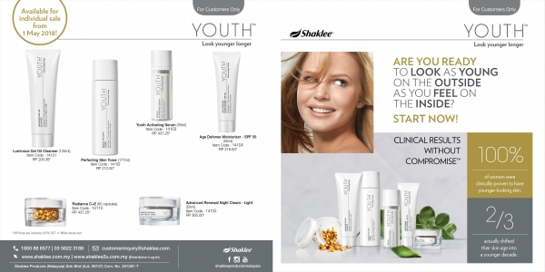 YOUTH, skincare shaklee