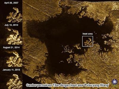 Misteri Pulau yang Hilang di Bulan Titan Terpecahkan