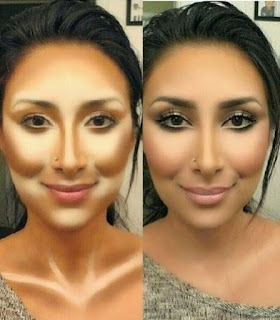 maquillage pour amincir votre visage