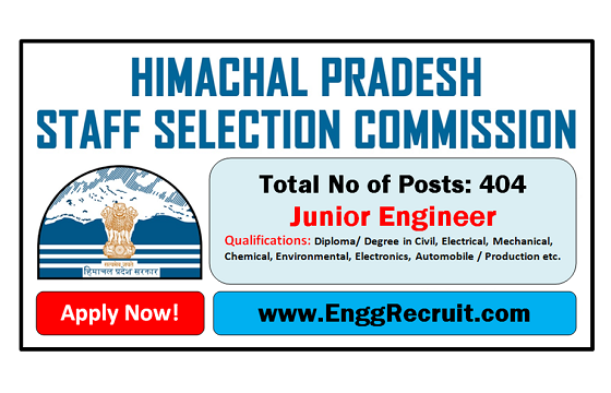 HPSSC Recruitment 2018