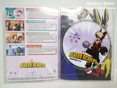 Anime: Reseña de My Hero Academia 1º temporada Edición DVD - Selecta Visión
