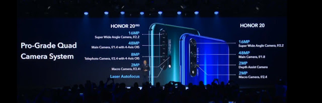 Honor 20 key specs