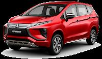 Mitsubishi XPander Warna Merah Red