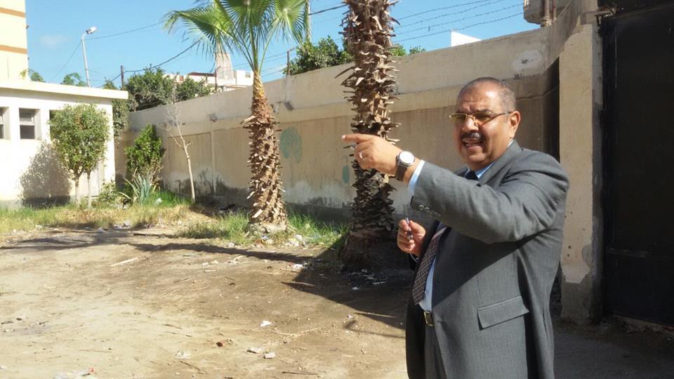 بالصور....النيلى يتابع مدارس المنتزةويحول بعضا من المدرسين للتحقيق.