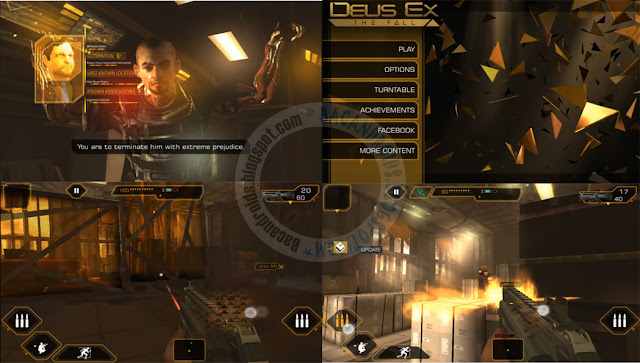 game deus ex the fall Mod money Apk Data Full terbaru