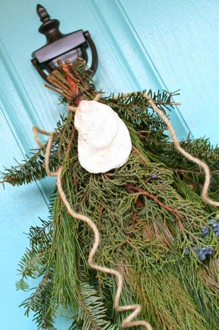 oyster swag front door
