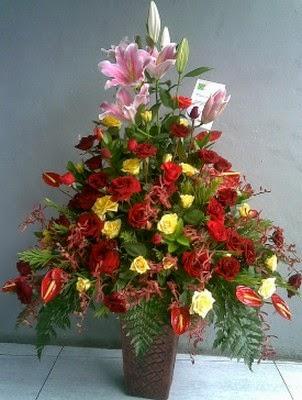 jasa merangkai bunga