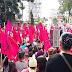 Protestan antorchistas ante la negativa de obras por parte de CMAS
