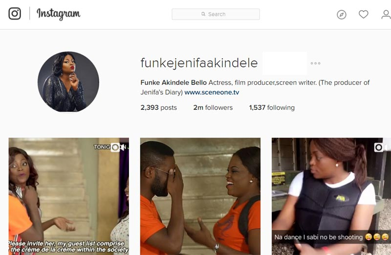 "Funke Akindele confirms marriage to JJC by changing surname to ""Bello"""