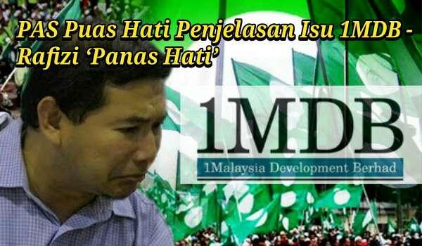 Rafizi 'Panas Hati' PAS Puas Hati Penjelasan Isu 1MDB