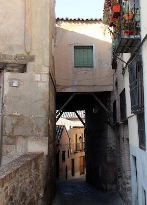 Callejuelas del barrio musulmán de Toledo