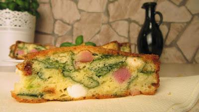Uskršnji vijenac ( šunka, sir, jogurt ) / Easter wreat ( ham, cheese, yoghurt )