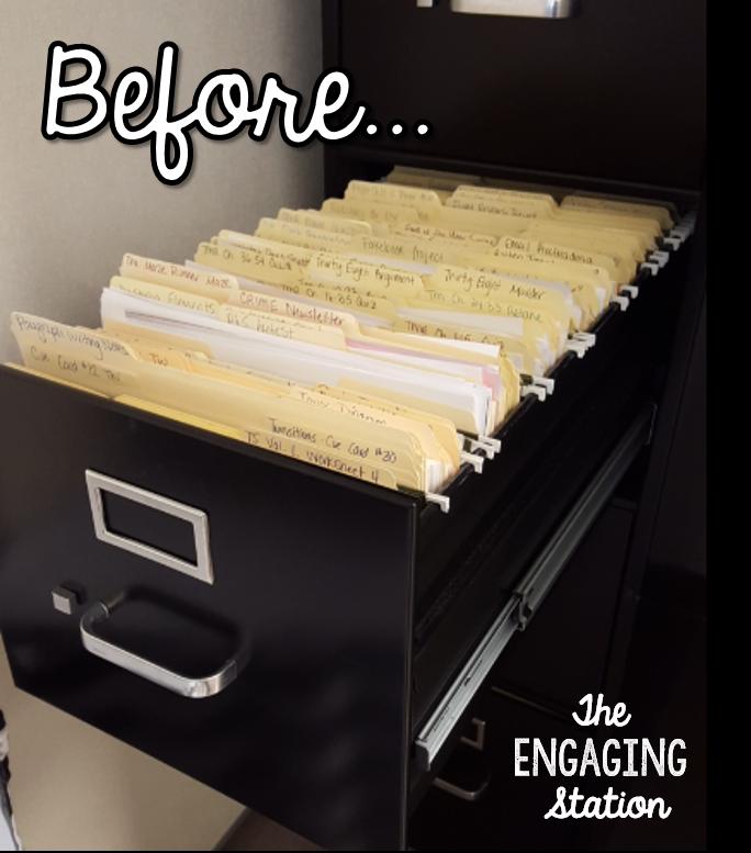 Filing Cabinet Organization