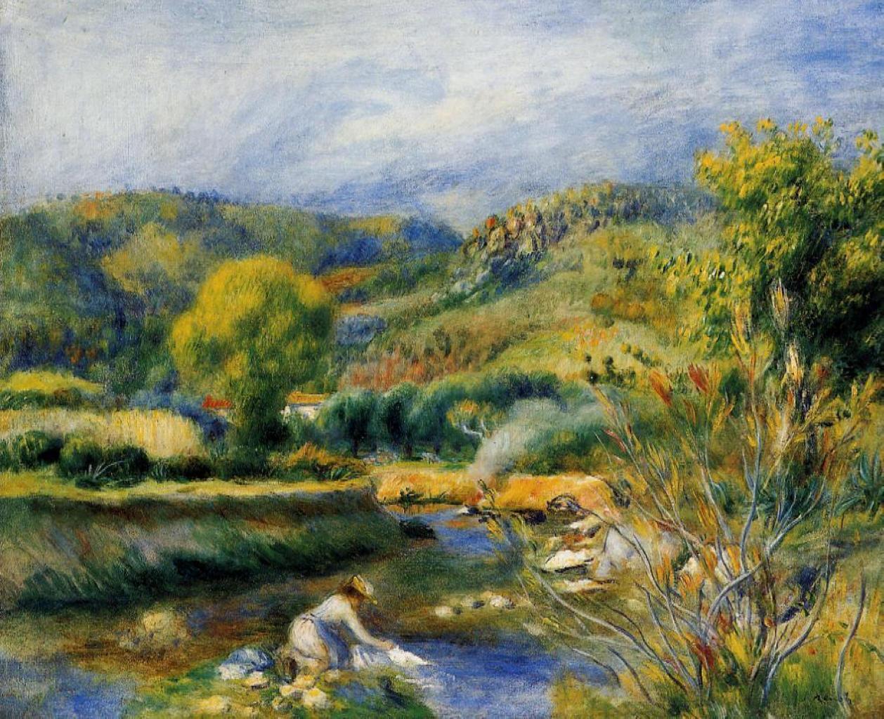 Pierre auguste renoir impressionist painter part 2 for Paintings by renoir
