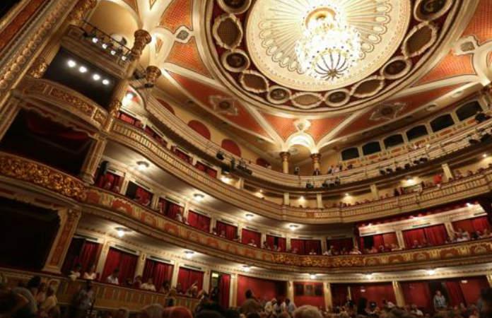Interior Teatro Lope de Vega de Sevilla