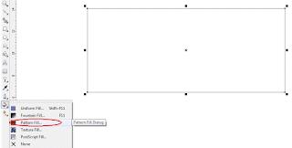 Cara mewarnai objek radial, gradient, pattern, linear fill, texture dan memberikan outline di coreldraw lengkap