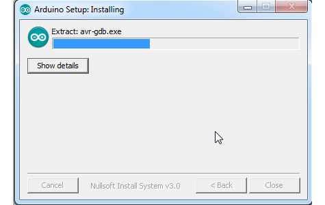 Proses Extract dan Install Arduino