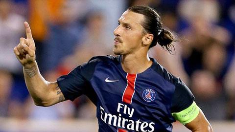 Tiền đạo Ibrahimovic tiếp tục là ngôi sao nhận được nhiều sự chú ý trên sân.