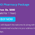 Buy IHO Pharmacy Package At Rs. 5000 For 1 Year & Get 61+ Test + Free Apollo Pharmacy Voucher