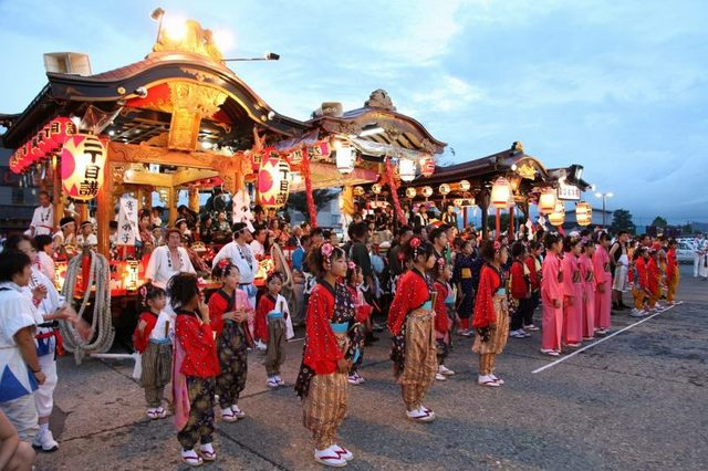 Odate Kyojinsha Reisai (shrine festival), Odate City, Akita Pref.
