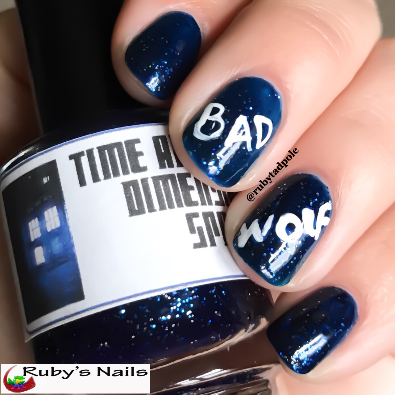 Even Though This Is A Doctor Who Themed Polish I Ve Never Actually Used It For Nail Art