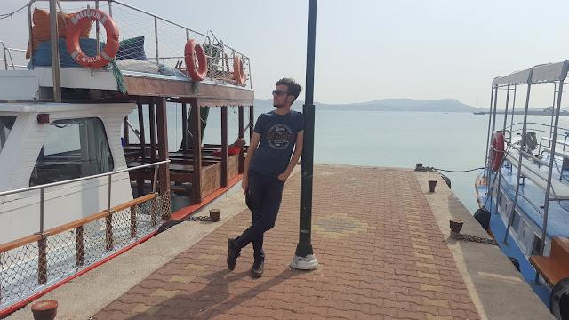 Balıkesir Ayvalık Alibey (Cunda) Adası Limanı