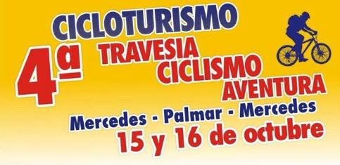 MTB - Cicloturismo - 4a Travesía ciclismo aventura Mercedes - Palmar - Mercedes (Soriano, 15y16/oc