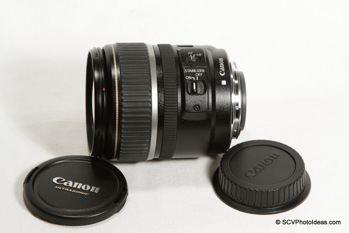 Canon EF-S 17-85mm F/4.0-5.6 IS USM caps removed