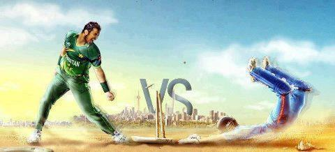 Just Cricket: Pakistan vs India Facebook Cover Photo