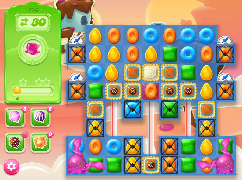 Candy Crush Jelly Saga level 714