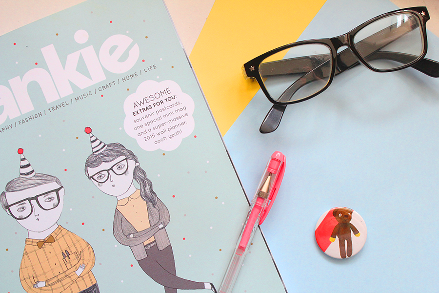 magazine desk pen stationery
