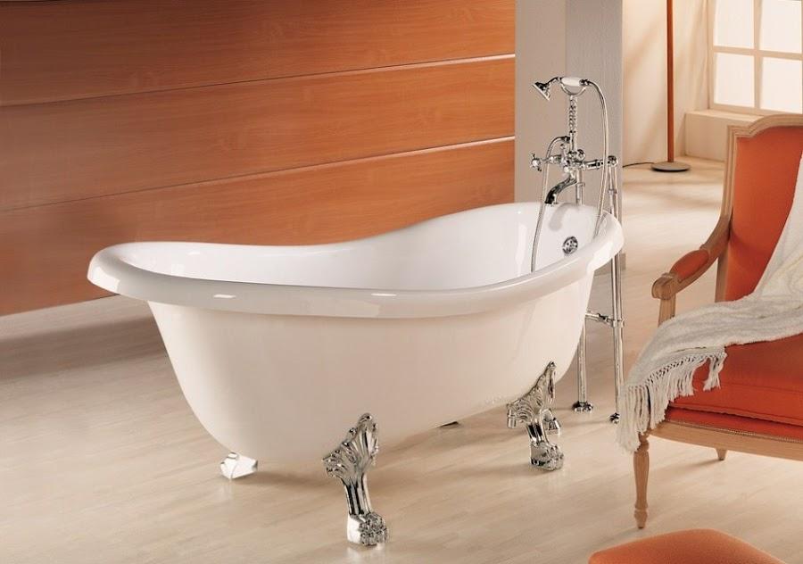 materiales de fábrica bañera exenta