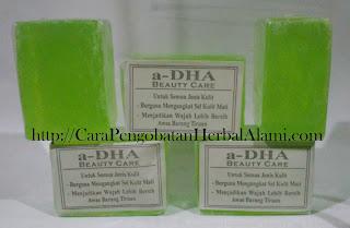 Agen Jual Manfaat Sabun a-DHA Asli Original  utk Kesehatan kulit