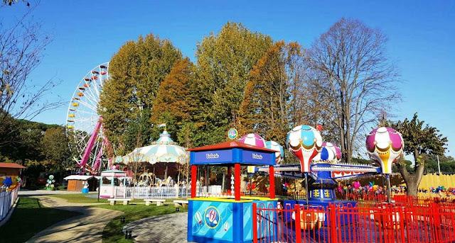 Luneur Park em Roma na Itália