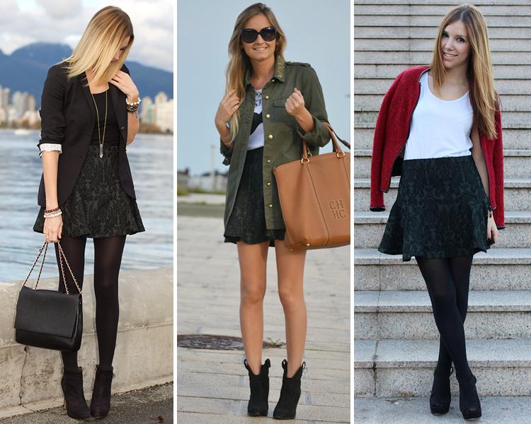 ZARA is the new black: Faldas de estampado camuflaje y