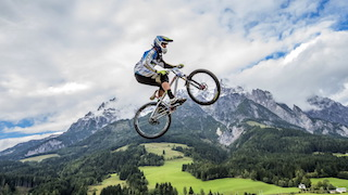 A Mountain Bike off a Mountain