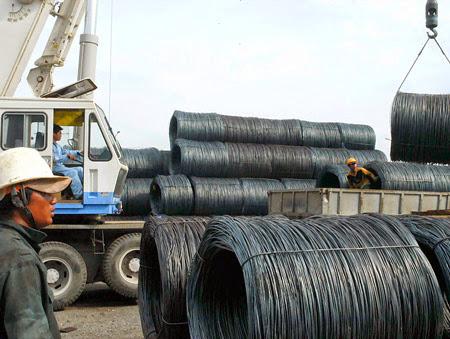 Giá quặng sắt, thép Trung Quốc hồi phục từ mức thấp nhiều tuần